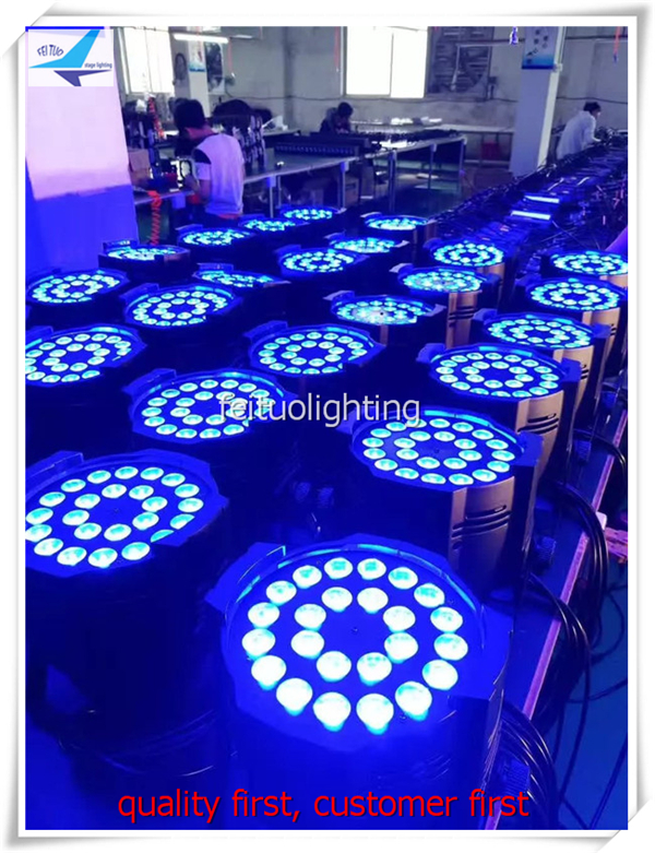 A- 8/lot low price par led 64 24x15w led par 64 light 5 in 1 LEDS LED PAR Stage Light Strobe 5/9Channel