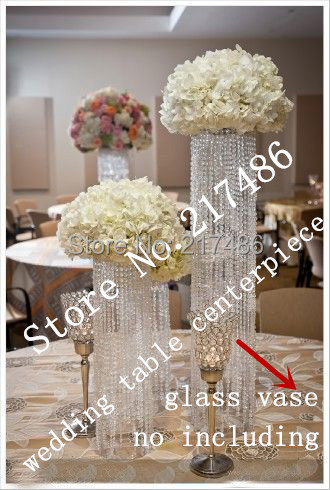 Crystal Table Top Chandelier Wedding Centerpieces Withwout The Flower And Vase Stand