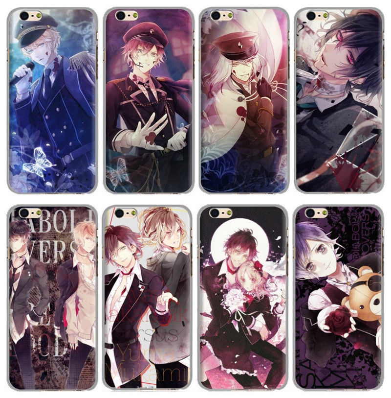 Case-Cover Cellphone Ayato Cosplay Samsung Sakamaki for Samsung/456789s/Note-plus/X Yui