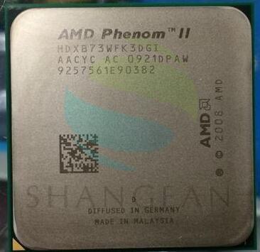 AMD Phenom X3 B73  2.8GHz Quad-Core CPU HDXB73WFK3DGI 95W Socket AM3 938pin