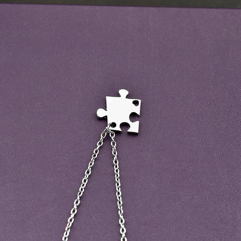 Trendig Ny stil 4 st / set Stitching Bästa Vänner Fyra Bra Sister - Märkessmycken - Foto 4