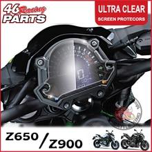 CK крупного рогатого скота король кластерный царапины кластерный Дисплей Защитная пленка протектор для Kawasaki Z650 Z900 Z 650/900