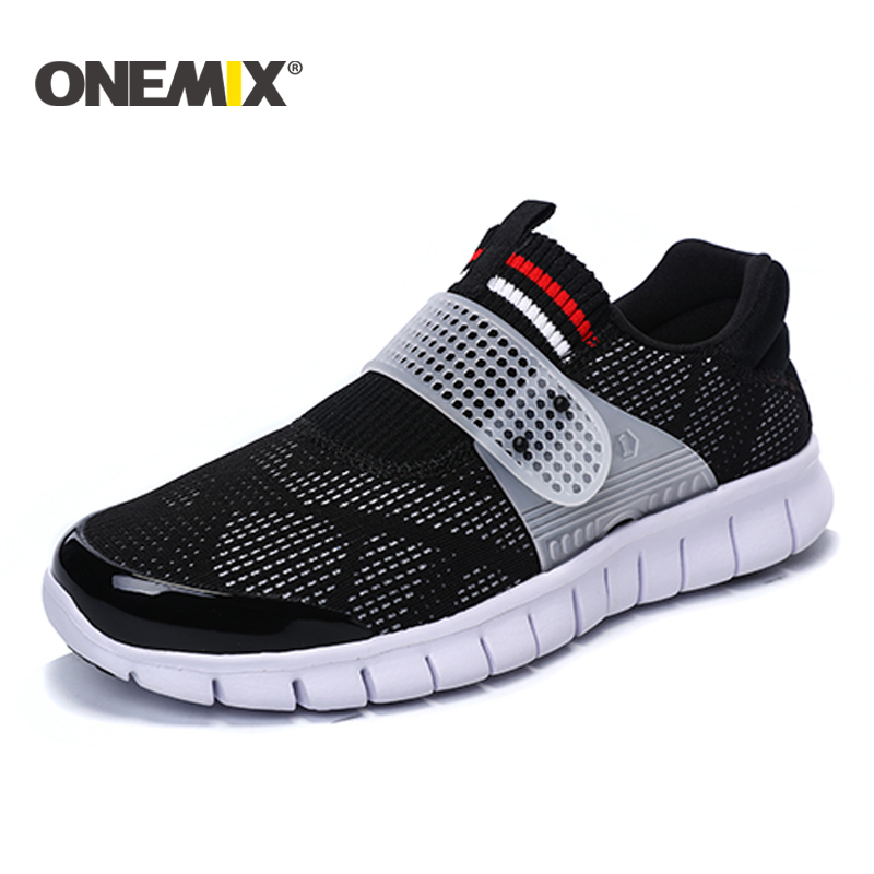 Onemix 2017 summer super light men sport shoe cool athletic shoes breathable running shoes for men walking shoes size EUR36-45 kelme 2016 new children sport running shoes football boots synthetic leather broken nail kids skid wearable shoes breathable 49