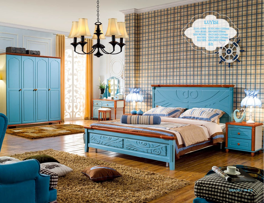 2017 Modern Muebles de dormitorio cama suave moderno cabecero cama ...