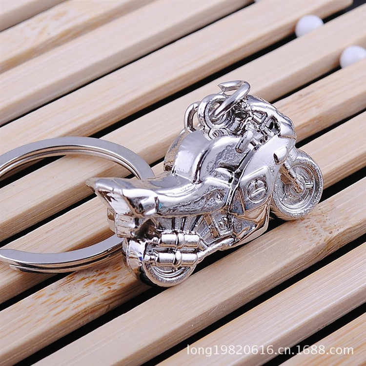 2018 New Creative personality gifts hanging motorcycle car metal key ring handicrafts Key Chains For Women Jewelry gift