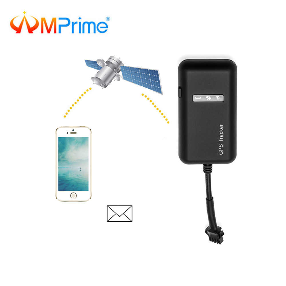 AMPrime GT02 Mini Car GPS Tracker TK110 Realtime GSM GPRS GPS Locator  Vehicle Tracking Device Google Link Real Time GPS System