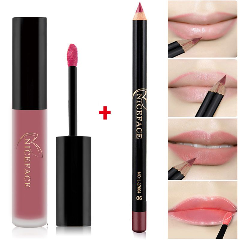 12 Colors Waterproof Matte Liquid Lipstick long lasting
