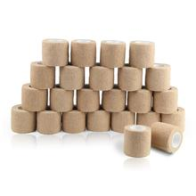 24 Rolls Self-Adhesive Bandage Waterproof Non Woven Gym Exer
