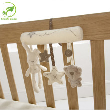 Creative Infants Cradle Hanging Toy Bed Baby Rattle Toy Rabbit Musical Soft Plush Doll Unisex Kids Toy Cute Toy For 13-24 Months