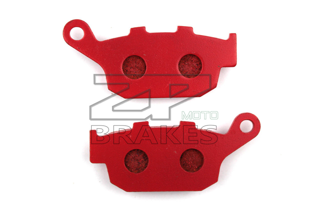 Motorcycle parts Brake Pads Fit HONDA CB500F (Non ABS) 2013-2014 Rear OEM Red Ceramic Composite Free shipping