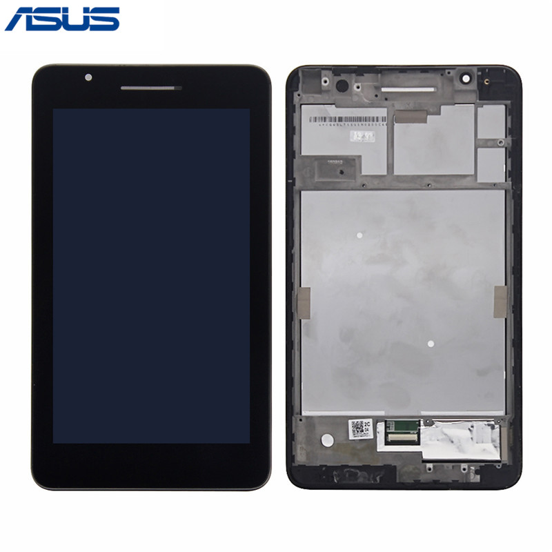 Asus FE171 LCD Display Touch Screen Assembly with frame Replacement Parts For ASUS Fonepad 7 FE171 FE171MG FE171CG LCD screen asus lcd display touch screen assembly with frame for asus vivotab smart me400c 10 1 replacement parts