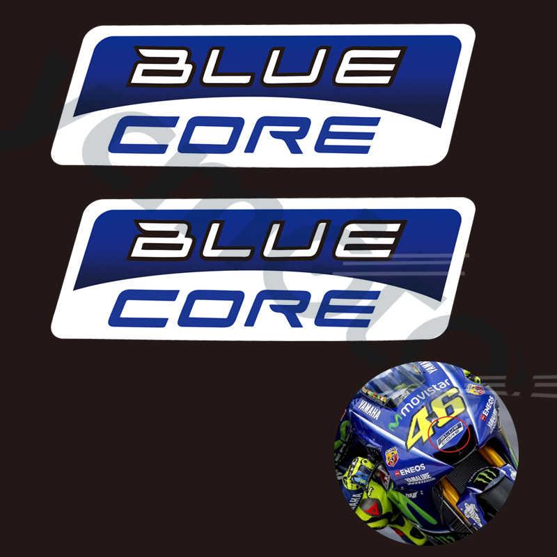 ブルーコアデカール/ステッカーモト GP チームオートバイホンダ Cbr ヤマハ R1 R6 スズキカワサキ Z900 忍者