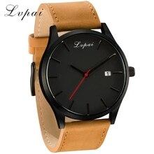 Военные кварцевые мужские часы, кожаные спортивные часы, Reloj, модные часы с большим циферблатом, высокое качество, наручные часы, Relogio Masculino