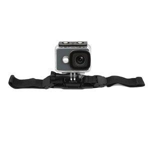 Image 4 - ยิงสายคล้องหมวกนิรภัยสำหรับ GoPro HERO 8 7 5 6 4 สีดำ Xiaomi Yi 4K SJCAM Sj4000 SJ 5000 H9 go Pro Mount ขี่จักรยานอุปกรณ์เสริม