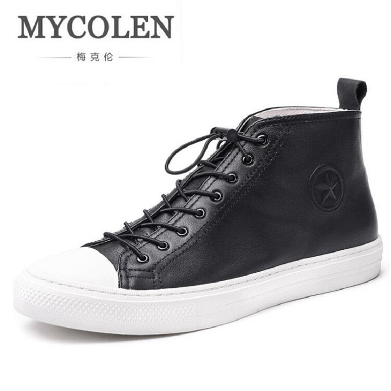 MYCOLEN 2017 New Men Shoes British Style Luxury Brand Men Genuine Leather Shoes Fashion Casual Male Flats Soft Bottom Shoes 2015 new fashion british martin causal genuine leather men shoes brand camel men shoes real leather men flats casual shoes man