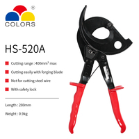 Ratchet Cable Cutter for cutting copper aluminum cables,single standed and multi stranded wire,electrical wire cable cutters
