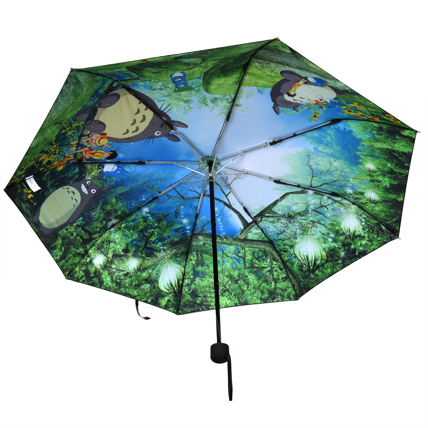 2017 Totoro Umbrella Anime Studio Ghibli Umbrellas Rain ...