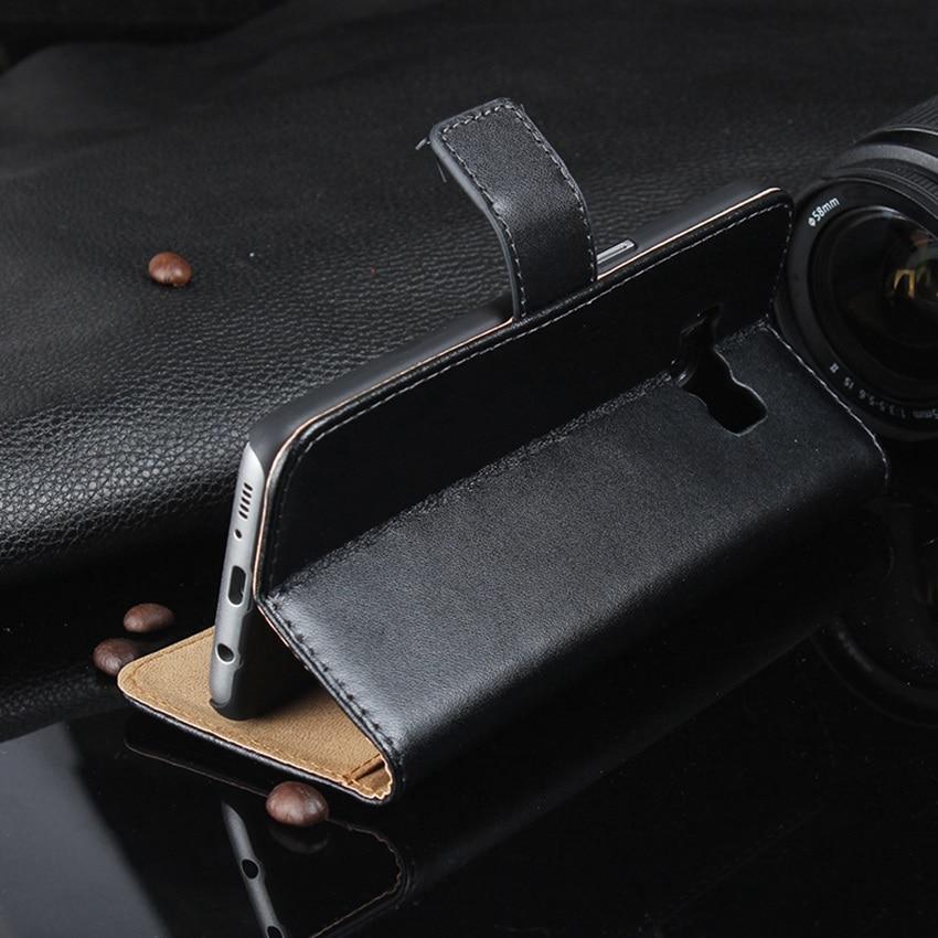 Äkta läder plånbok med stativ magnetisk lås telefon ärmväska - Reservdelar och tillbehör för mobiltelefoner - Foto 5