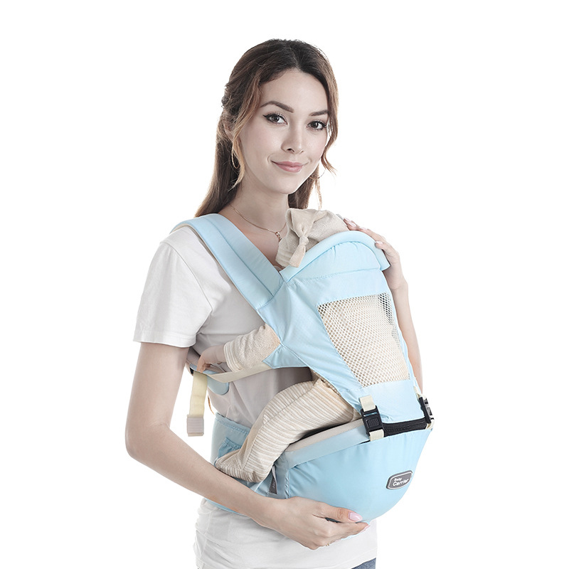 New Breathable Comfortable Front Facing Baby Carrier  Sling Backpack Newborn Waist hipsit  Pouch Wrap Kangaroo Carrying Child-in Backpacks & Carriers from Mother & Kids on AliExpress