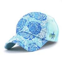 Swing Giant Shark 2017 New Fashion Brand Baseball Cap Ladies Flower Hat High Quality Women