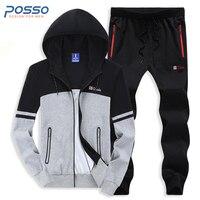 Tracksuit For Men 100 Cotton Hoodies 2pcs Sport Suit Men S Hoodies Cotton Casual Hoodies Sports