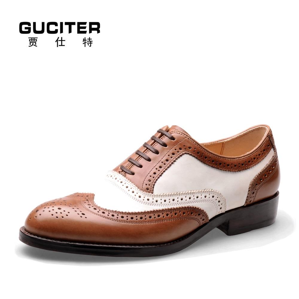 Мужчины и Goodyear рант обуви изготовлена мужская обувь круглый носок телячьей кожи на заказ мужская обувь восстановление высекает картины итальянского бренда классические
