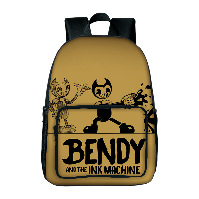 New Arrival Bendy And The Ink Machine School Bag Game Backpack For Student School bag Notebook Backpack Daily Backpacks 2018 bendy and the ink machine backpack for children school bags cartoon game printing book backpack daily school backpack