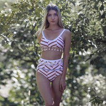 купить Two Pieces Bikini Set swimwear women 2019 Summer biquini  bikini set Push up sexy swimsuit female  bathing suit string bikini по цене 831.07 рублей