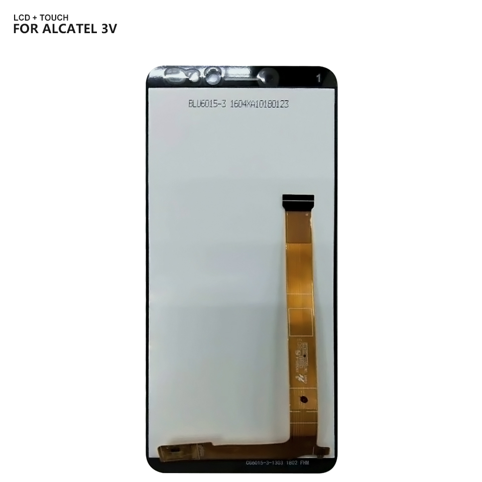 US $19 99 |Free Shipping For Alcatel 3V OT5099 5099 5099Y 5099U 5099D LCD  Display Touch Screen Digitizer Glass Assembly Replacement Parts-in Mobile