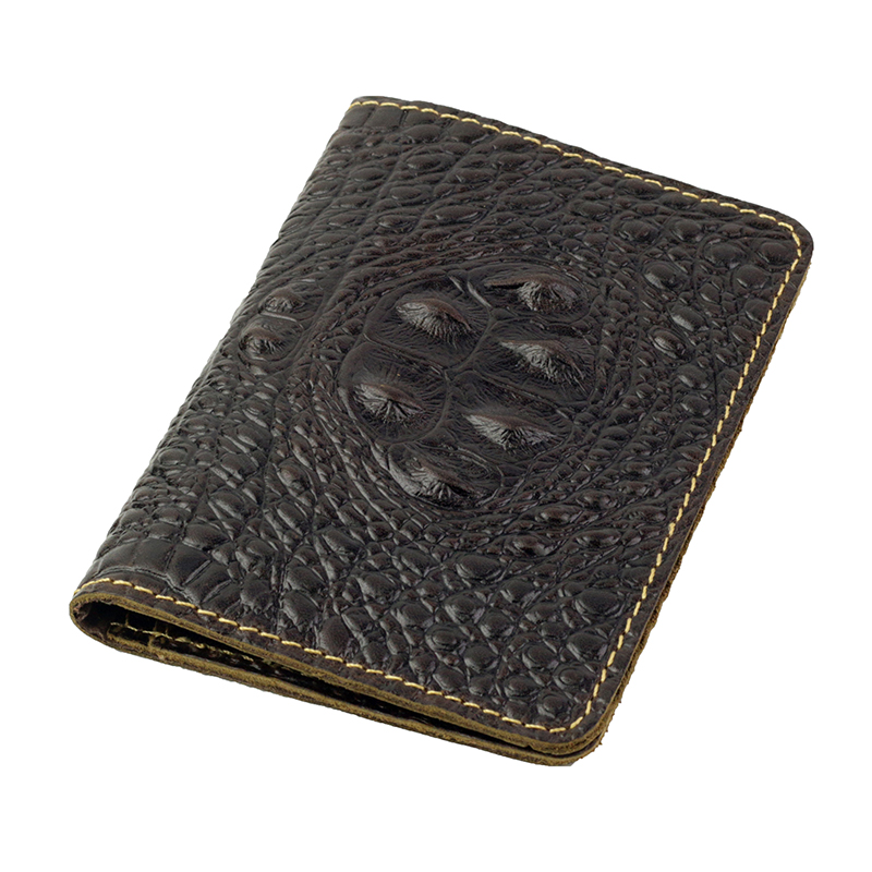 New Arrivals Crocodile Pattern Vintage Style Travelling Passport Covers 2018 Brand Designer Premium Genuine Leather Card Holder