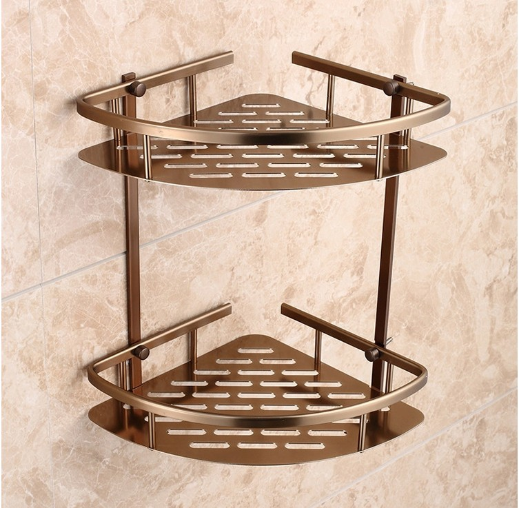 Home Improvement Bathroom Shelves Bathroom Accessories,fashion Antique Design Shower Shampoo&toilet Storage Shelf/wall Mounted Bathroom Basket/bath Furniture Latest Technology