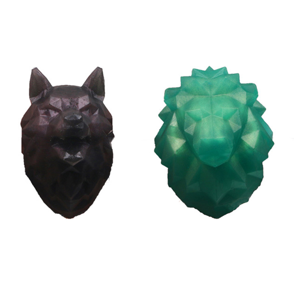 Silicone Mould Model Decoration Jewelry Animal Mould DIY Head Mold New Epoxy Ceramic Crystal 2019 Epoxy