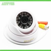 HKES Dome Security Camera Ahd 1080P 3 6mm Lens Wide Angle 24 PCS IR Led IR