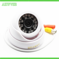AHWVSE Dome Security Camera Ahd 1080P 3.6mm Lens Wide Angle 24 PCS IR Led IR Cut 65Ft Ir Range Night Vision Indoor