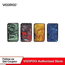 VOOPOO DRAG Mini Mod 117w TC box Mod 4400mAh GENE FIT Chip elektroniczny papieros vape box Mod Vs Drag 2 Mod tanie tanio Mechaniczne Mod 3500 mAh Metal