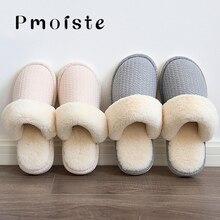 Winter Slippers women Plus size 41-44 Bedroom Warm shoes for Girls Short Plush Non Slip Indoor Soft slipper Chaussures femme цена 2017