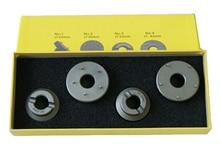 Envío gratis 4 piezas de alta calidad caja de reloj abridor troqueles para el conjunto de herramientas de reparación de OmegaWatch