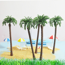 20X architectural model palm tree 180mm artificial plastic