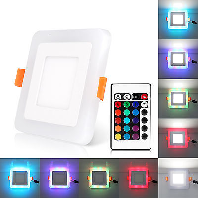 3 Mode Dual Color LED Recessed Ceiling Panel Down Lights Bulb L& Indoor Home-in Downlights from Lights u0026 Lighting on Aliexpress.com | Alibaba Group  sc 1 st  AliExpress.com & 3 Mode Dual Color LED Recessed Ceiling Panel Down Lights Bulb Lamp ...
