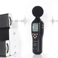 Sound Level Meter Noise Measuring Instrument Audio Decibel dB Metro Monitoring Tester Digital Gereedschap Alarm Function CE