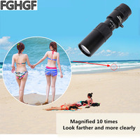 FGHGF 10X40 Handheld Telescope 10x40 Watch Birds Animals Wild Hunting Survival Tool Monocular 1000m Observation See a Concert