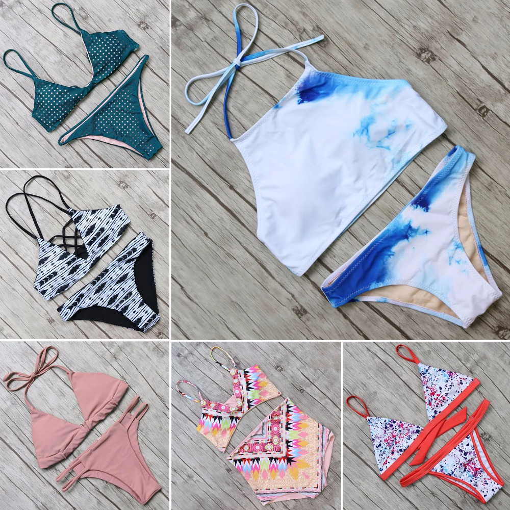 Limited Time Offer Bikini Set Brazilian Biquini Swimwear Women Sexy Bandage Bathing Suit Swimsuits Maillot De Bain Femme ruuhee new arrival bikini swimwear swimsuit women sexy bikini set bathing suit biquini push up beach 2017 maillot de bain femme