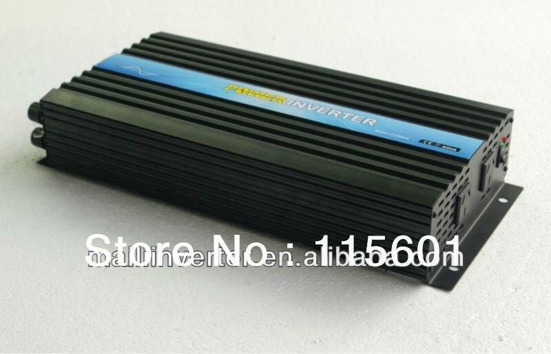 Onduleur de batterie d'inverseur d'énergie solaire 2500 W/2.5KW DC12V AC120V garantie d'un an