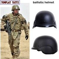 В стиле милитари тактический полиции swat Пуленепробиваемый Шлем NIJ IIIA PE M88 Боевая Пейнтбол air оружие самообороны быстро баллистических helme