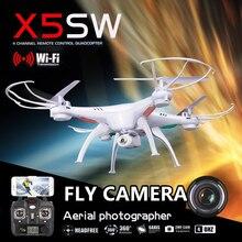 SYMA X5SW X5SW-1 FPV Drone X5C Fly WiFi Caméra Réel temps Vidéo RC Quadcopter 2.4G 6-Axis Quadrocopter VS RC Drone LS126