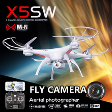 SYMA X5SW X5SW-1 FPV Drone X5C  Fly WiFi Camera Real Time Video RC Quadcopter 2.4G 6-Axis Quadrocopter VS RC Drone  LS126