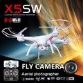 X5sw x5sw-1 syma x5c fpv zangão voar wifi câmera real tempo de Vídeo Quadrocopter RC Quadcopter 2.4G 6-Axis VS RC Zangão LS126