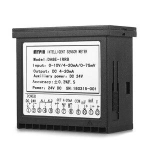 Image 2 - Đa chức năng DC 24 v Kỹ Thuật Số LED Hiển Thị Cảm Biến Meter với 2 Báo Động Tiếp Sức Đầu Ra và 0 ~ 10 v/4 ~ 20mA/0 ~ 75mV Đầu Vào