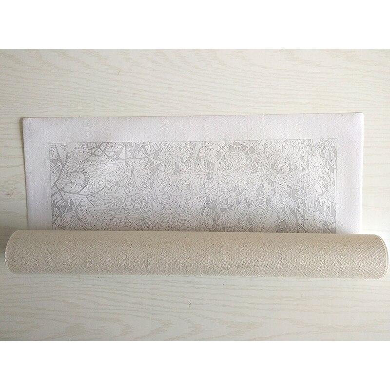 Çağırılmamış cizgi filmi akril şəkil DIY Rəsm Nömrələrə - Ev dekoru - Fotoqrafiya 2