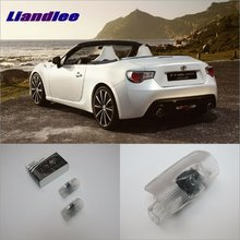 цены Liandlee Car Door Ghost Shadow Lights For Toyota GT FT 86 Courtesy Doors Lamp / Brand Logo LED Projector Welcome Light